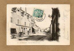 CPA - Le THILLOT (88) - Aspect De La Rue De L'Hôtel De Ville En 1903 - France