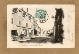 CPA - Le THILLOT (88) - Aspect De La Rue De L'Hôtel De Ville En 1903 - Francia