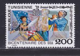 TUNISIE N°  836 ** MNH Neuf Sans Charnière, TB (D7933) 200 Ans Indépendance Des USA - 1976 - Tunisie (1956-...)
