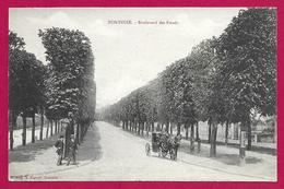 CPA Pontoise - Boulevard Des Fossés - Pontoise