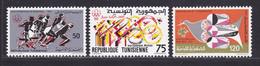 TUNISIE N°  833 à 835 ** MNH Neufs Sans Charnière, TB (D7934) Jeux Olympiques à Montréal - 1976 - Tunisie (1956-...)