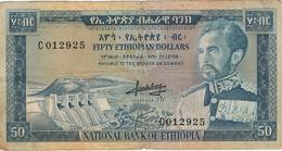 ETHIOPIE - 50 DOLLARS - Ethiopie