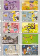 France. 10 Télécartes  2003 - Frankrijk