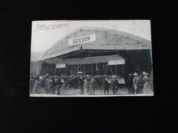 ANGERS    GRANDE SEMAINE D'AVIATION    AU HANGAR BIPLAN FARMAN - ....-1914: Précurseurs