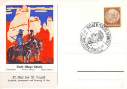 Sammlerbeleg Karl-May-Spiele 1939 Rathen - Cartas