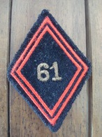 Losange De Bras 61 Em Bataillon  Du Génie. - Armée De Terre