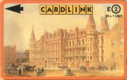 United Kingdom - GPT, 3CLKC, Cardlink, Great Ormond Street Hospital, Italian Hospital, 20+1 U, 3,000ex, Used - Ver. Königreich