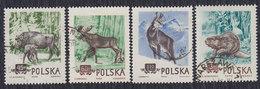 Poland 1954 Animals - Fauna, Used (o) Michel 685-688 - 1944-.... República
