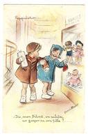 Illustrateur Gernaine BOURET - Repopulation - Dis, Mon Bébert, On Avhète Un Garçon Ou Une Fille? - POUPÉE - Ed. M. D. - Bouret, Germaine