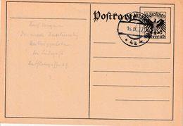 "OOSTENRIJK : Ganzsache - Entier : Michel P 270   ""BAS AUSSEE  16.IX.27 / * 4a *"" (ohne Adresse) - Entiers Postaux"