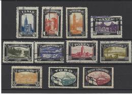 ALLEMAGNE.  YT Vignettes 1900 - Deutschland