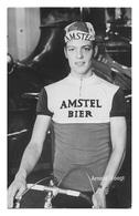 CARTE CYCLISME ARNOLD VOOGT TEAM AMSTEL 1971 - Cyclisme