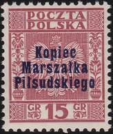 Polen  .  Yvert   389A     .    **    .   Postfrisch    .   /  .   MNH - 1919-1939 Republic