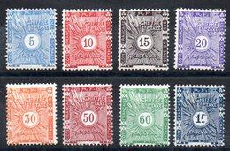 SOMALIS -YT Taxe N° 1 à 8 - Neufs * MH - Cote: 23,00 € - - French Somali Coast (1894-1967)
