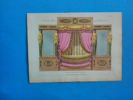 French Bed And Wardrobe - Stampe & Incisioni