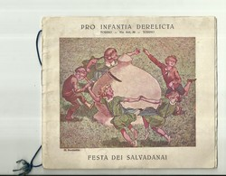 """2065 """" PRO INFANTIA DERELICTA - TORINO - FESTA DEI SALVADANAI - 17 MAGGIO 1925 """" ORIGINALE - Programmi"""