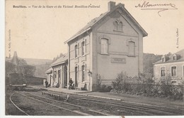 Bouillon - Vue De La Gare Et Du Vicinal Bouillon-Paliseul , ( Tram , Station ) - Bouillon
