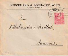 """OOSTENRIJK : Ganzsache - Entier : PRIVAT AUFDRUCK Umschlag Michel (n)  """"WIEN 20.V.10""""  """"BURCKHARD & SOCHATZY / WIEN"""" - Entiers Postaux"""