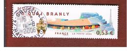 FRANCIA (FRANCE) -  YV 3937   - 2006  QUAI BRANLY MUSEUM     - USED - Francia