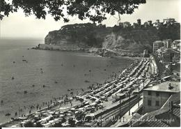 REAL PHOTOGRAPHIC POSTCARD - CELLE LIGURE - GENERAL VIEW OF THE SEA-SHORE - LIGURIA - Other Cities