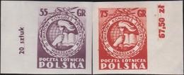 Polen     .  Yvert   Luft  32/33           .    **    .   Postfrisch    .   /  .   MNH - Airmail