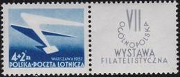 Polen     .  Yvert   Luft  40   .    **    .   Postfrisch    .   /  .   MNH - Airmail