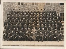 Photo 240 Mm X 178 Mm - Années 50 - 2ème Compagnie De Commandement - Militaires Armée - Scan R/V - - Bateaux