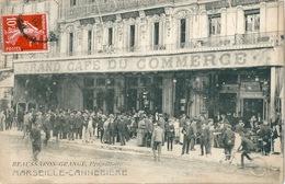 MARSEILLE CANNEBIERE GRAND CAFE DU COMMERCE Très Animé - The Canebière, City Centre