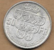 50 Francs Argent 1939 FL-FR - 1934-1945: Leopold III