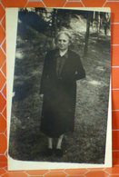 Donna Anziana Cartolina Fotografica Formato Piccolo Originale - Mujeres