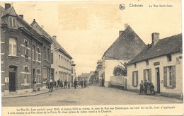 Chièvres NA20: La Rue Saint-Jean 1929 - Chièvres