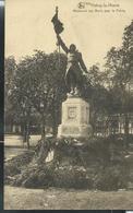 Carte écrite En 1921  : Monnument Aux Morts Pour La Patrie - Habay