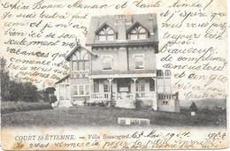 Court St-Etienne NA20: Villa Beauregard 1904 - Court-Saint-Etienne