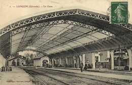 LANGON (Gironde ) La Gare RV - Langon