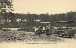 Environs D'Arcachon Le Tramway Du Phare RV - Arcachon