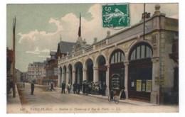 62  Paris - Plage   Station De Tramway Et Rue De Paris - France
