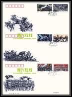 2016-31 CHINA 80 ANNI OF LONG MARCH  FDC 3V - 1949 - ... République Populaire
