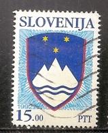 SLOVENIE     N°   17   OBLITERE - Slovénie