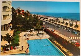 GIULIANOVA - PISCINA HOTEL DON JUAN - FG VG 1977 CON CON FRANCOBOLLO - Teramo