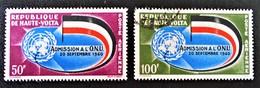 ADMISSION AUX NATIONS-UNIES 1962 - NEUFS **/O - YT PA 5/6 - MI 112/13 - Haute-Volta (1958-1984)