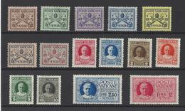 VATICAN. YT  N° 26/39 Et Express N°1/2  Neuf **  1929 - Neufs