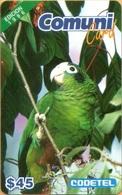 Dominicana - DMC007, ELa Cotorra Parrot, Edition 1996, Birds, 45 $, 1996, Used As Scan - Dominicana