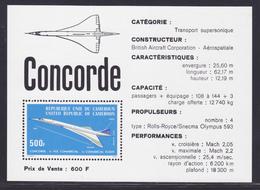 CAMEROUN BLOC N°    9 ** MNH Neuf Sans Charnière, TB (CLR399) Avion, Concorde - 1976 - Cameroun (1960-...)