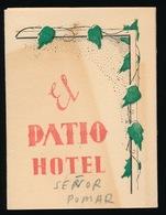 RECLAME - HOTEL ,, EL PATIO ,, GOMILA 5 EL TERRENO - PALMA DE MALLORCA - LOOK 3 SCANS - Mallorca