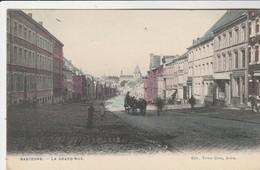Bastogne , La Grand Rue , COLORISEE , ( Edit : Victor Caën ) - Bastogne
