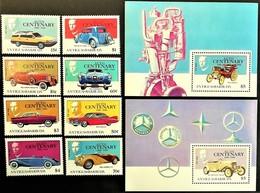 # Antigua & Barbuda 1986**Mi.983-92 Cars , MNH [19;74] - Autos