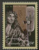 Antonie Van Leeuwenhoek, Father Of Microbiology, Microscope, Discovered Protozoa Physician, MNH Grenada - Medicine