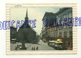 Canada. Québec. Place Royale. Photo: Yves Tessier. Fotopage Collection - Cartes Modernes