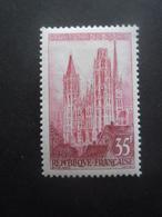 France N°1129 CATHEDRALE De ROUEN Neuf * - Eglises Et Cathédrales