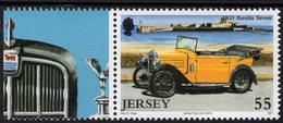 Jersey - 2010 - Classic Cars - Austin Seven - Lighthouse - Mint Stamp - Jersey